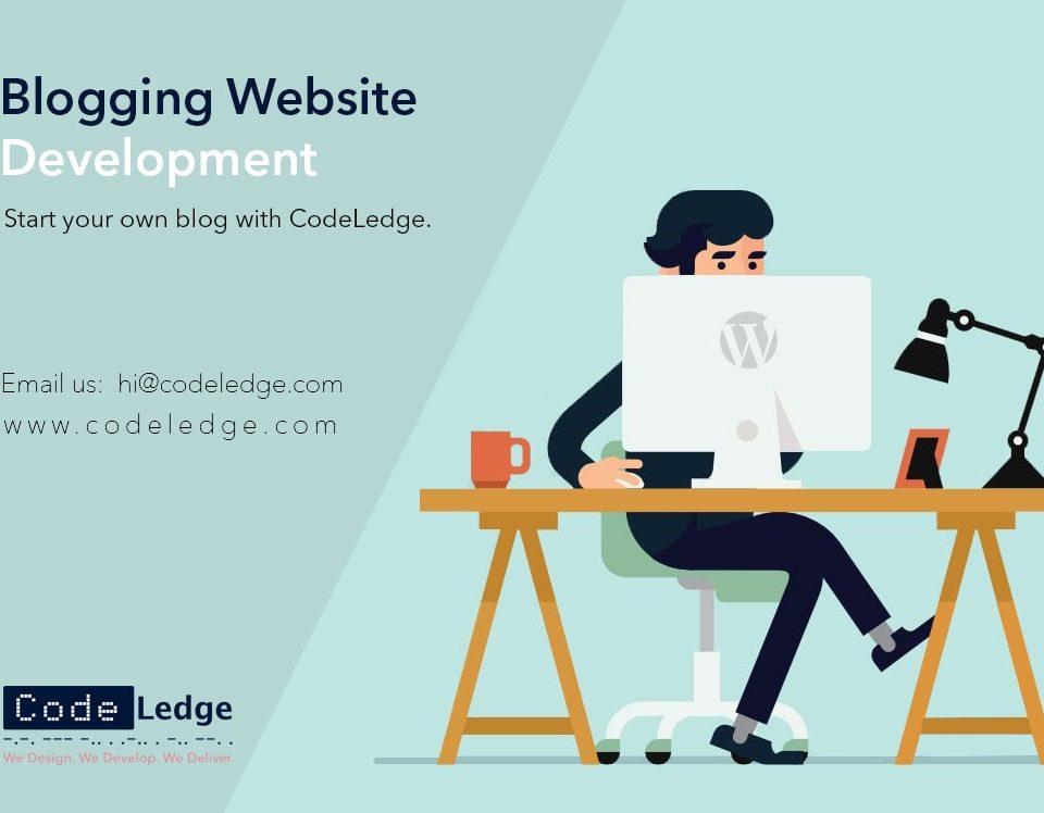 blogging website development