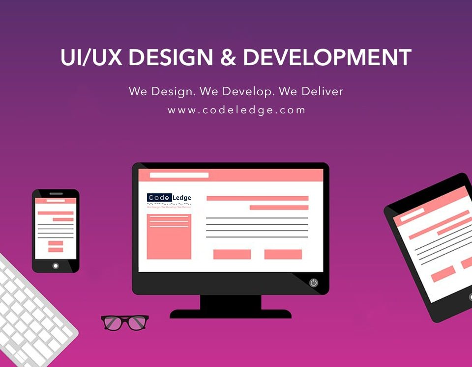 ui/ux design & development