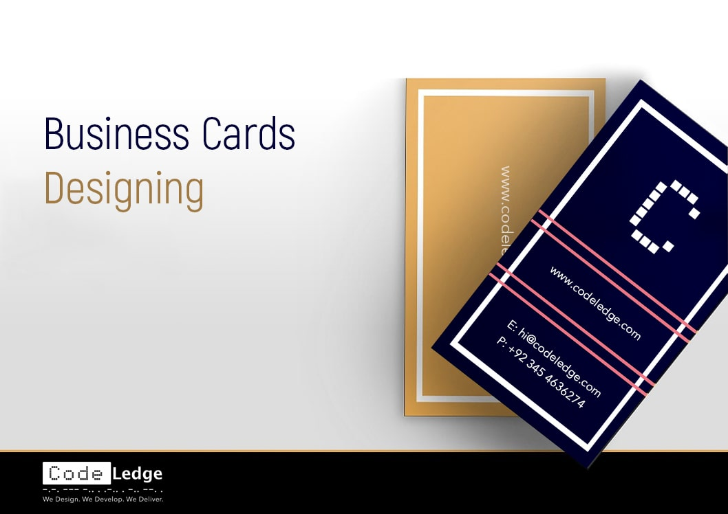 business cards designing services