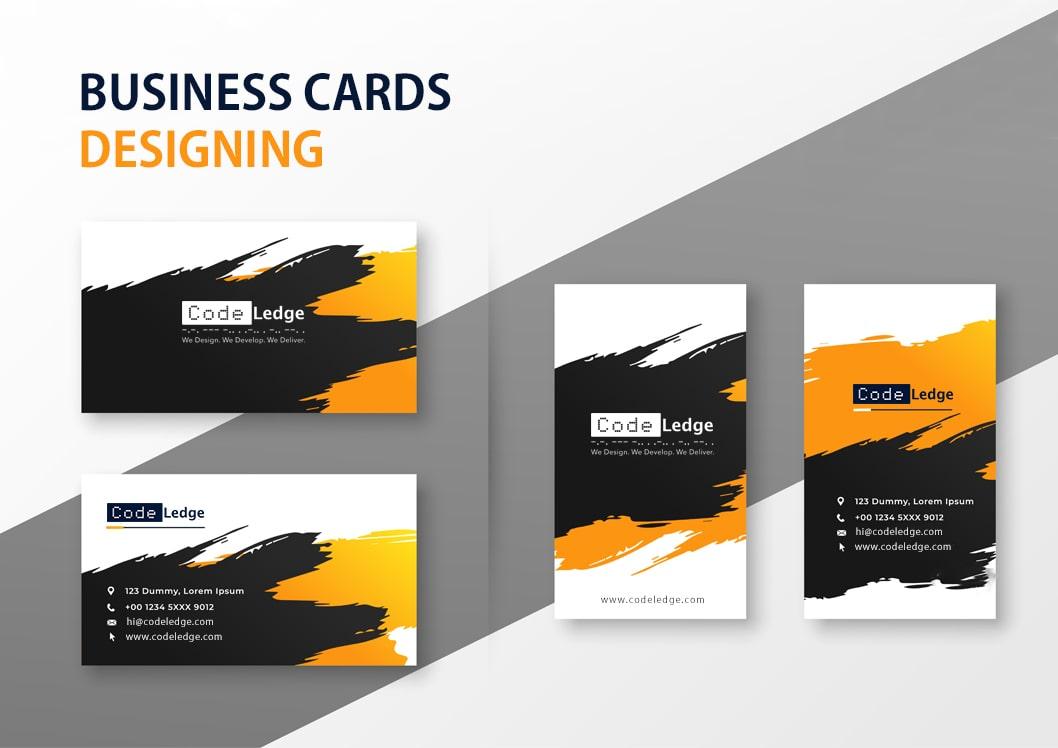 businesscards designing