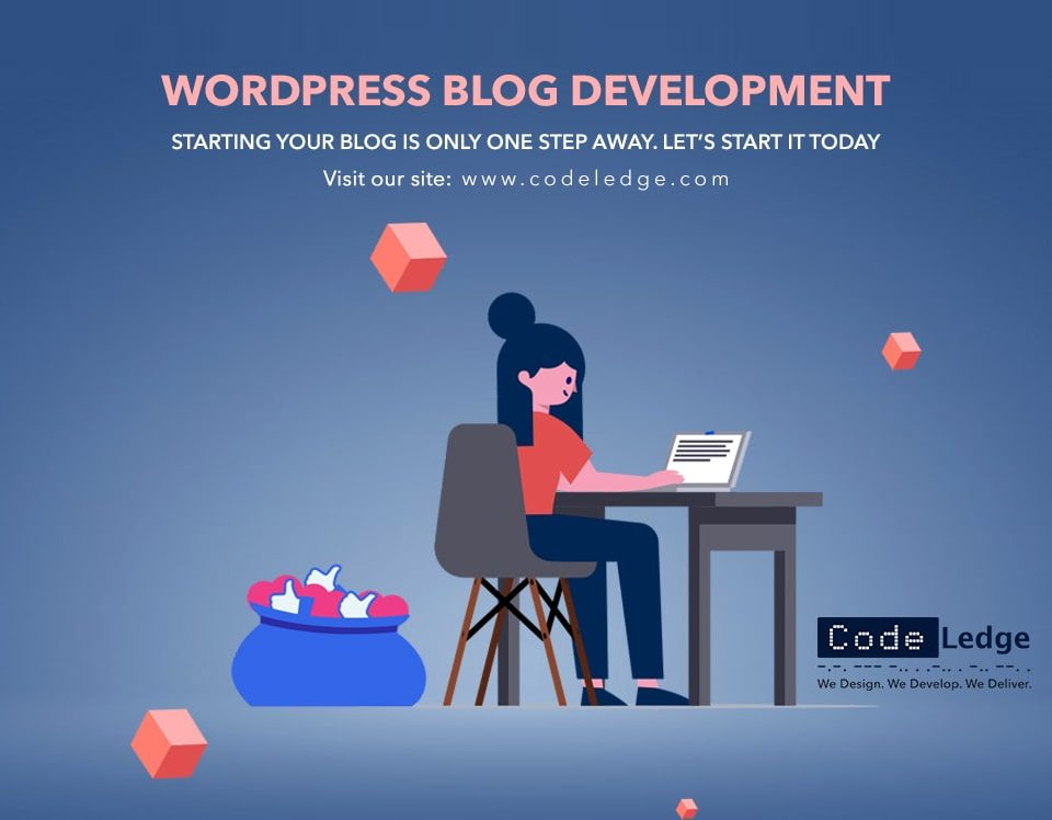 WordPress blog development