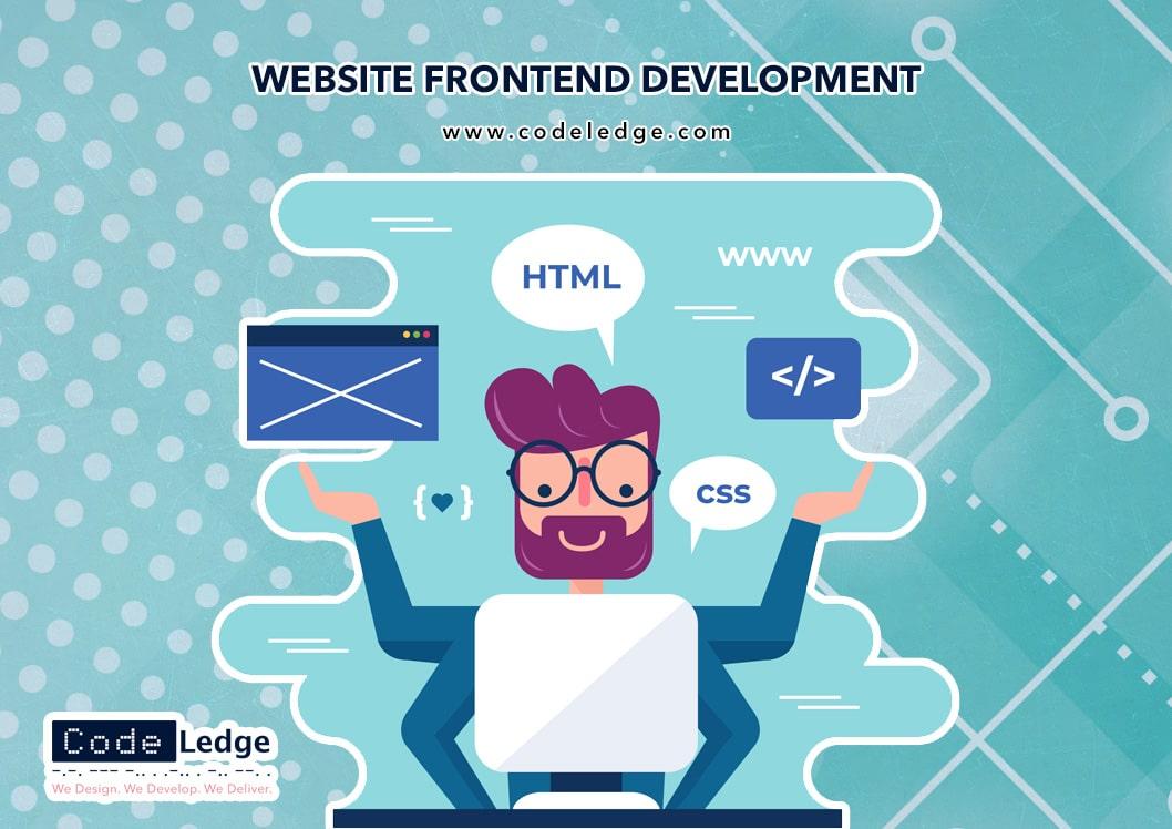 front-end development services