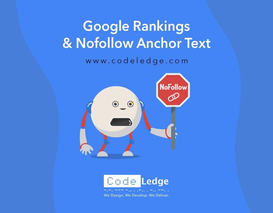 Google Rankings and Nofollow Anchor Text