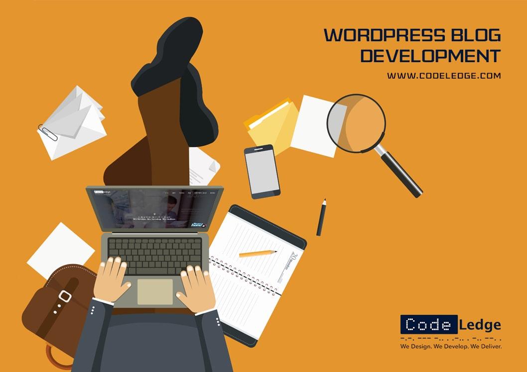 WordPress blog development services
