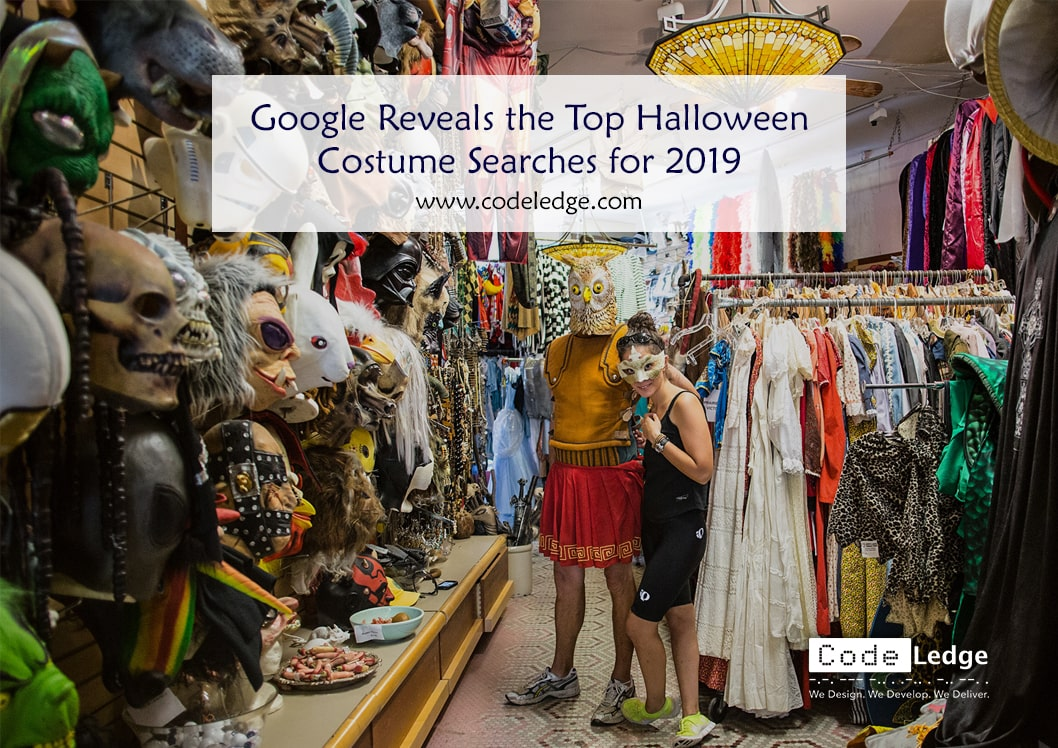 Google Reveals the Top Halloween Costume Searches for 2019