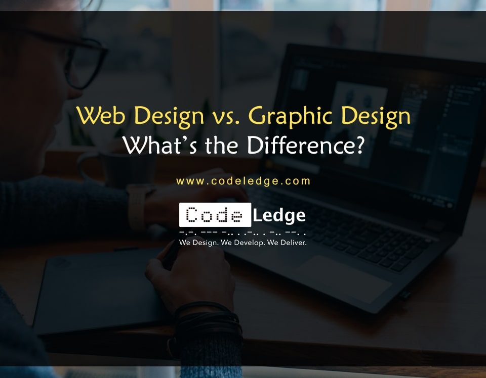 Web Design vs. Graphic Design What is the difference