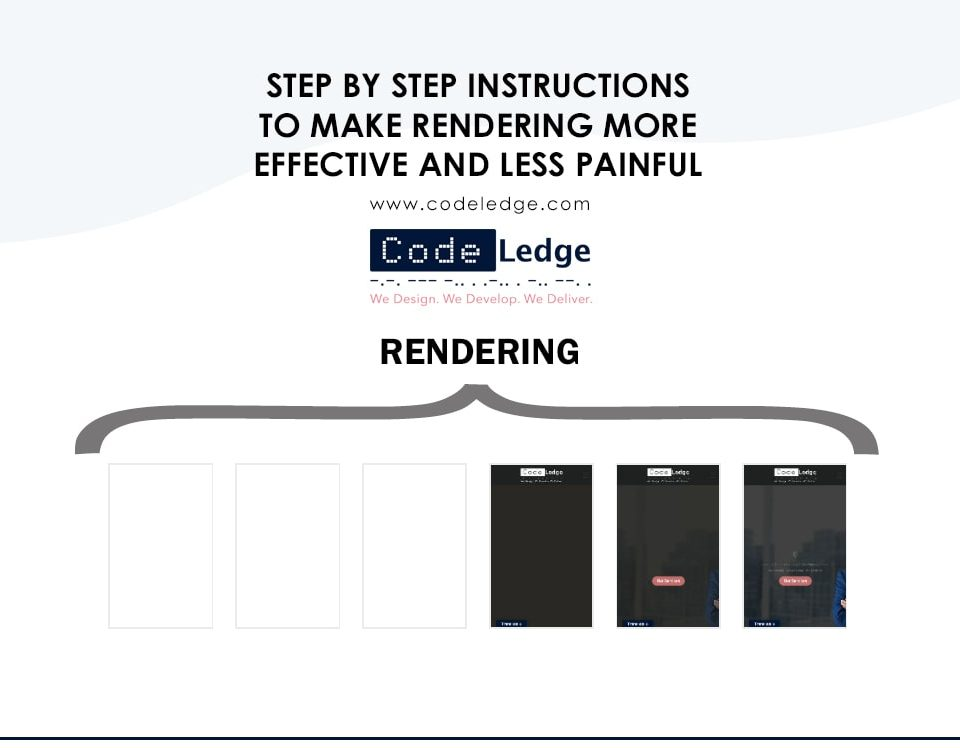 Step by step instructions to Make Rendering More Effective and Less Painful