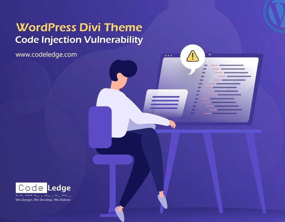 WordPress Divi Theme Code Injection Vulnerability