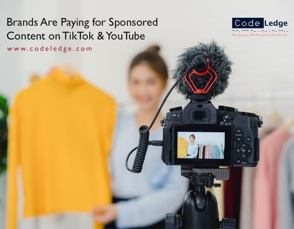 Brands Are Paying for Sponsored Content on Tiktok and Youtube