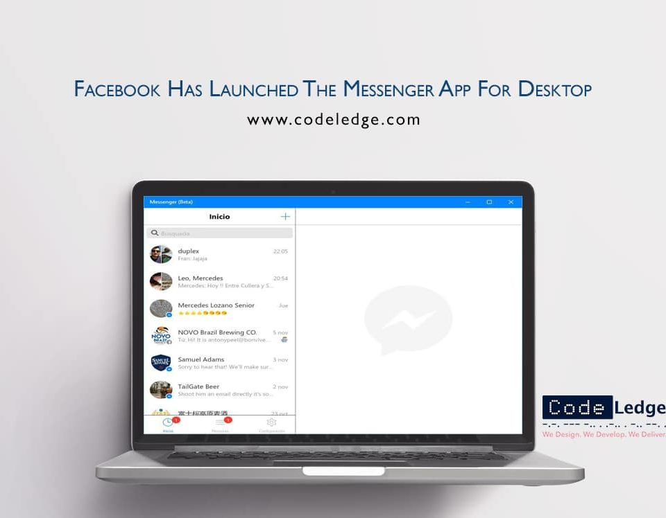 Facebook Has Launched The Messenger App For Desktop