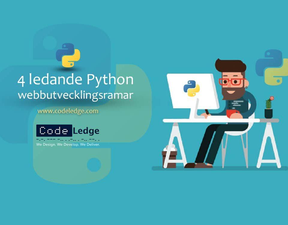 4 Ledande Python webbutvecklingsramar i Sverige