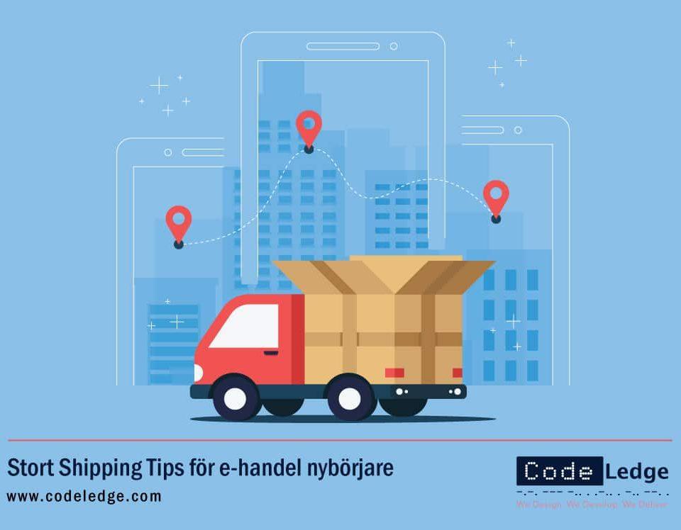 Stort Shipping Tips för e-handel nybörjare i Sverige