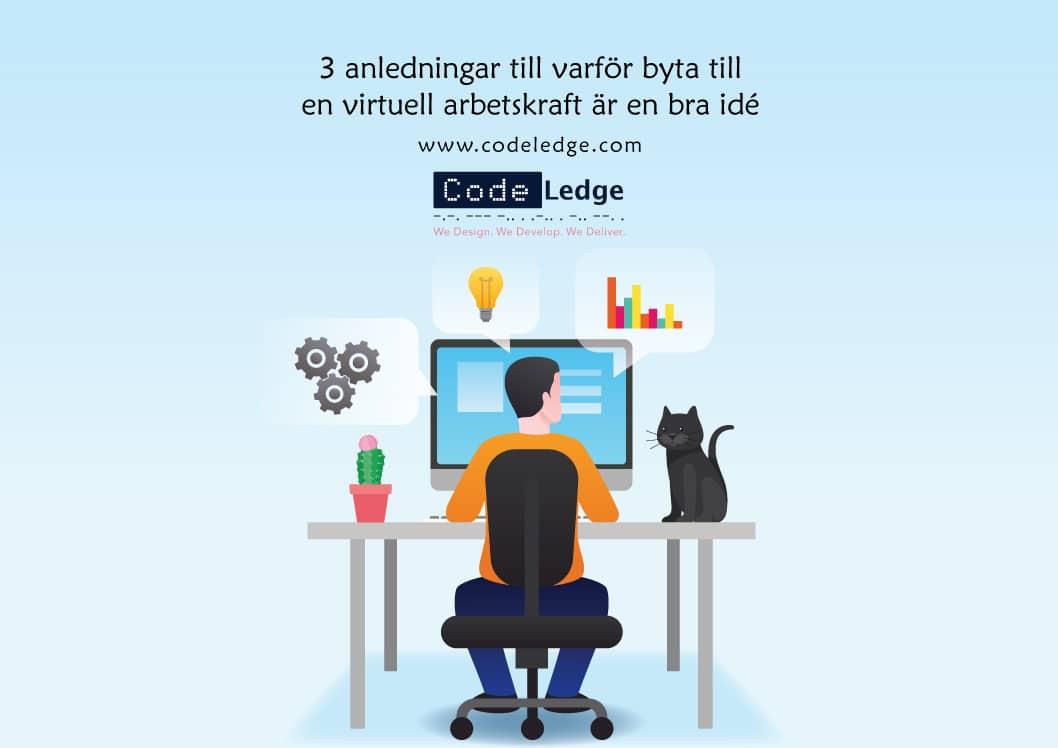 3 anledningar till varför byta till en virtuell arbetskraft är en bra idé i Sverige