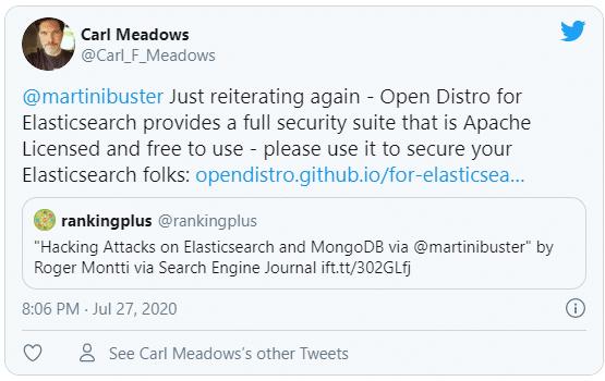 tweet about hacking attack