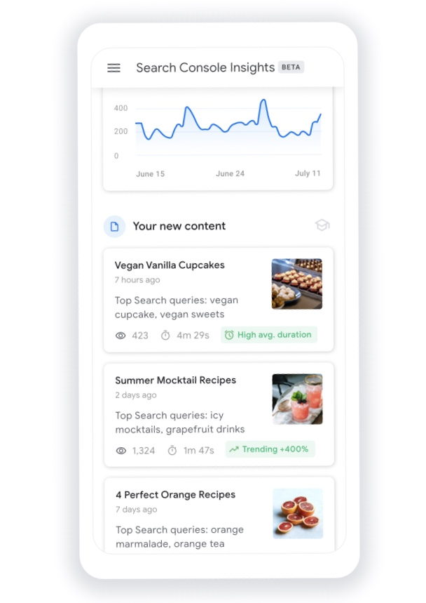 Google Search Console new tool