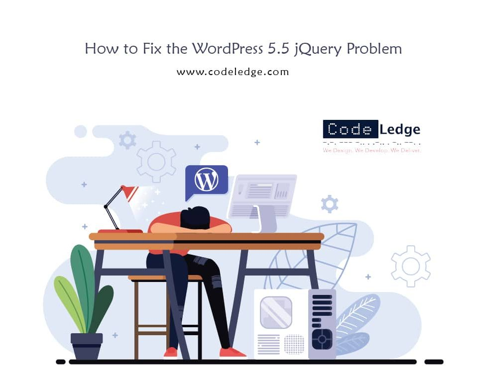 How to Fix the WordPress 5.5 jQuery Problem