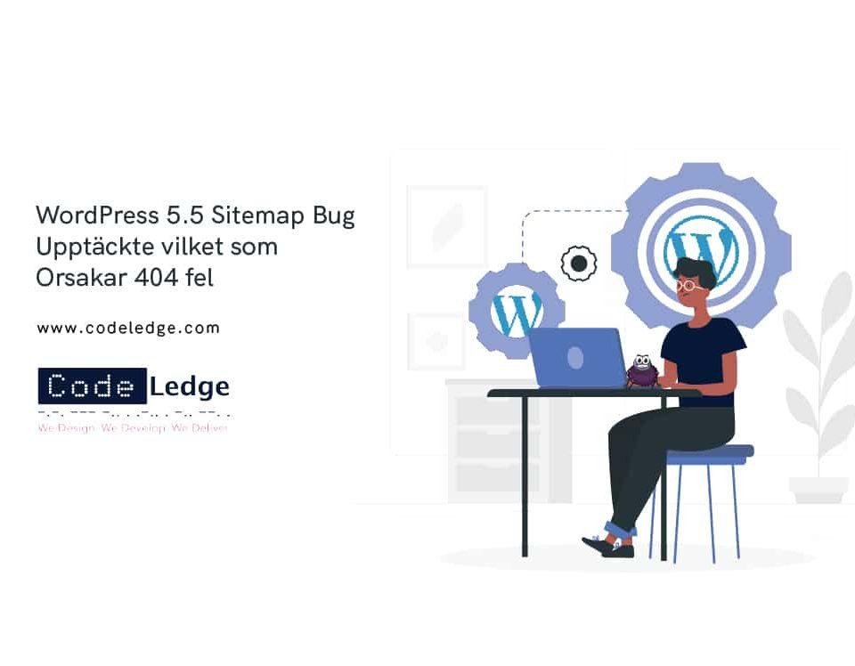 WordPress 5.5 Sitemap Bug Upptäckte Vilket som Orsakar 404 fel