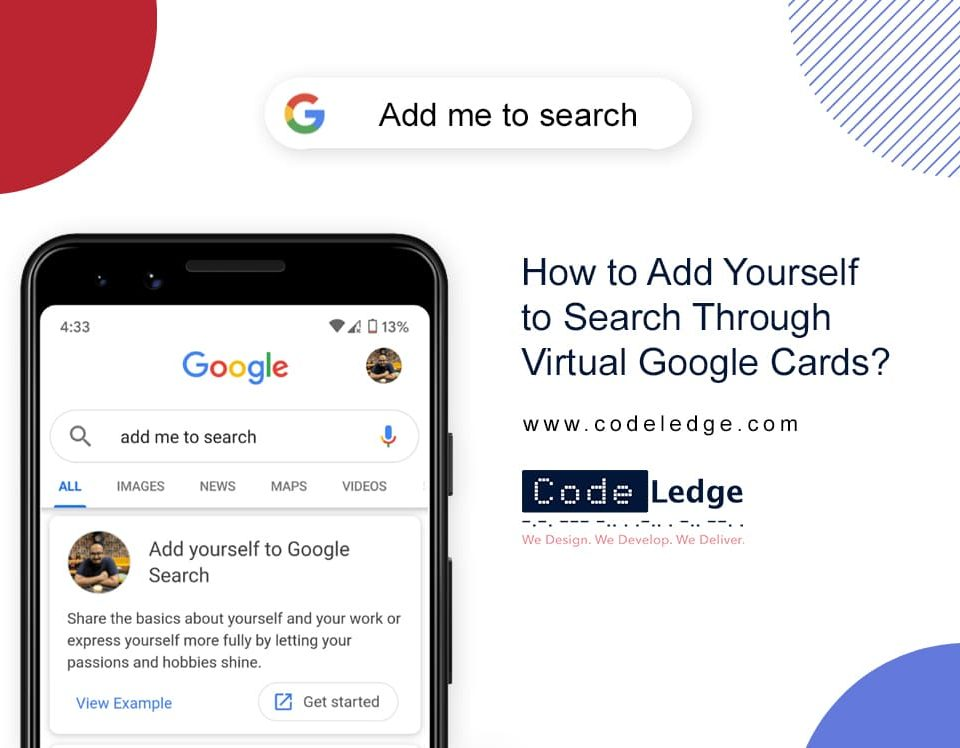 How to Add Yourself to Search Through Virtual Google Cards