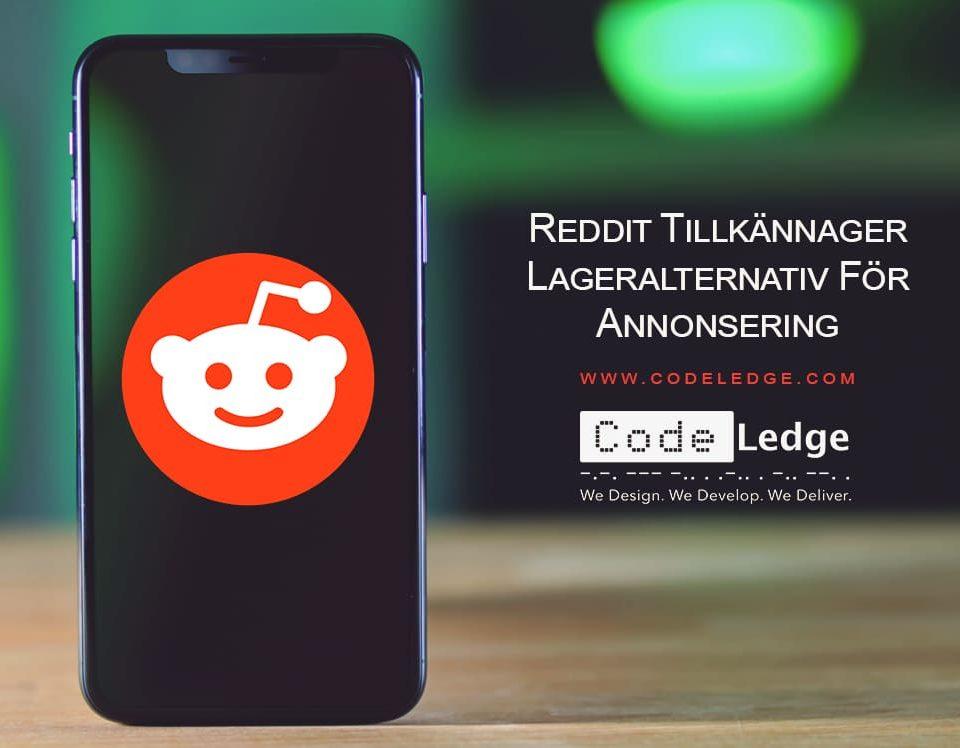 Reddit tillkännager lageralternativ för annonsering