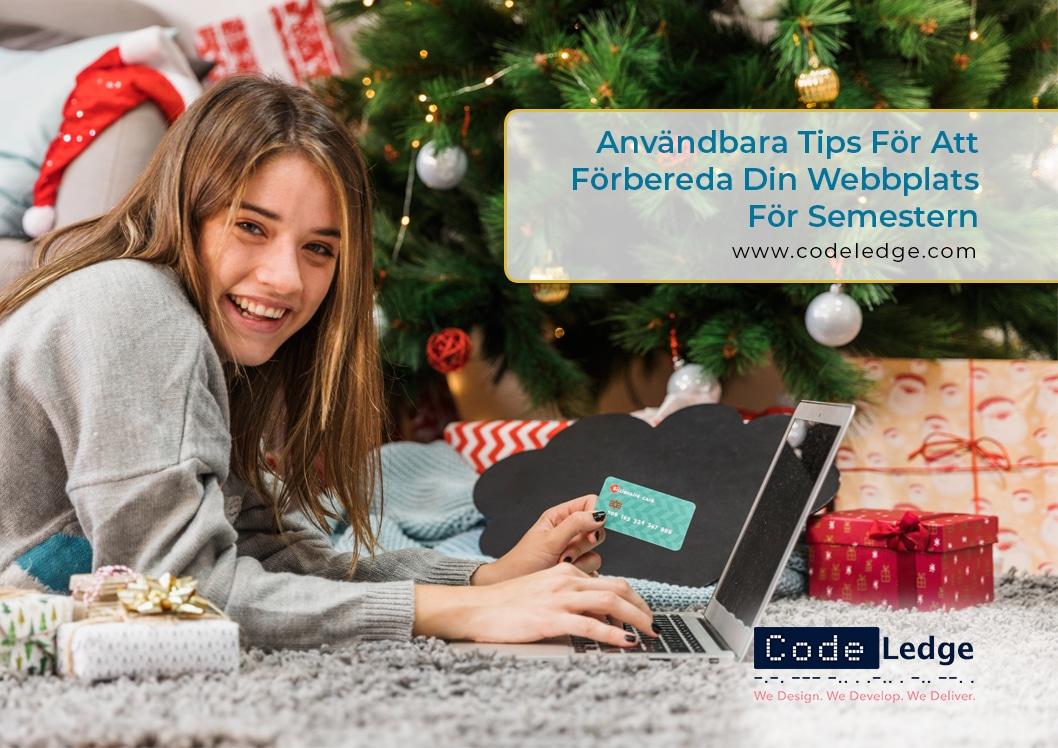 Användbara tips för att förbereda din webbplats för semestern i Sverige