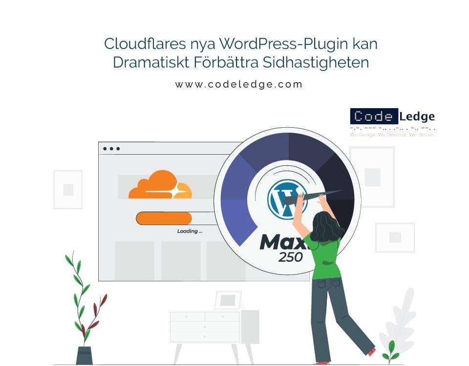 Cloudflares nya WordPress-Plugin kan Dramatiskt Förbättra Sidhastigheten