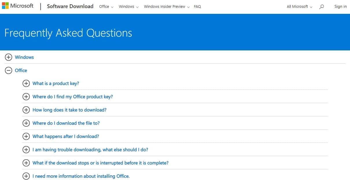 Microsoft-FAQs
