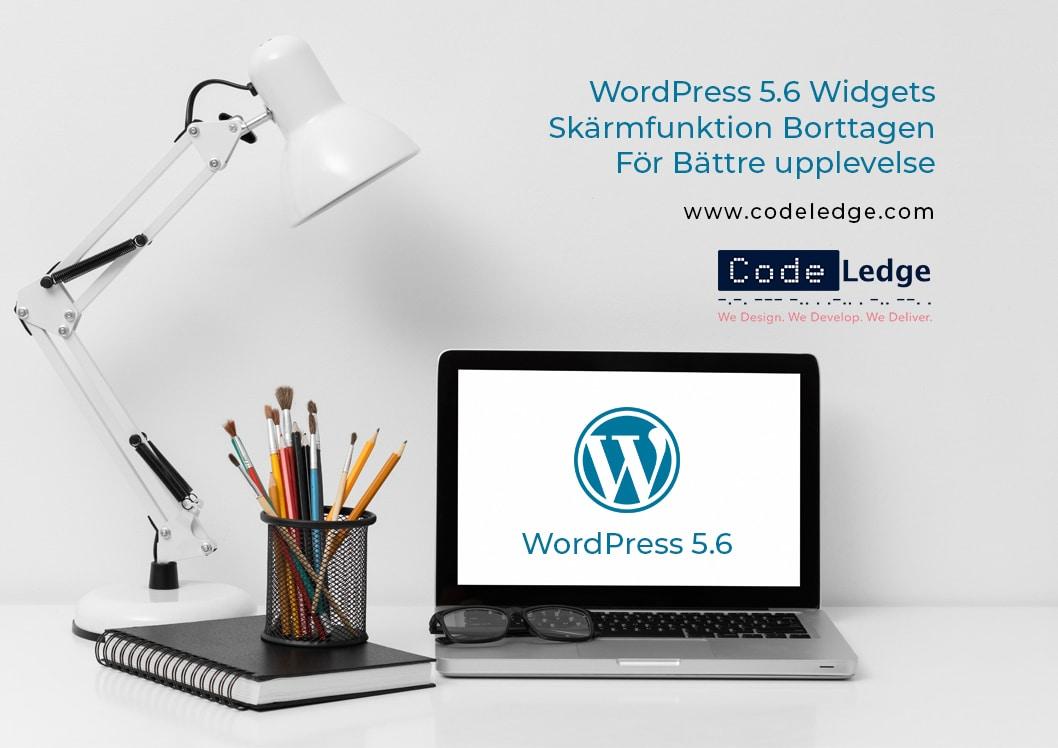 WordPress 5.6 Widgets Skärmfunktion Borttagen För Bättre Upplevelse