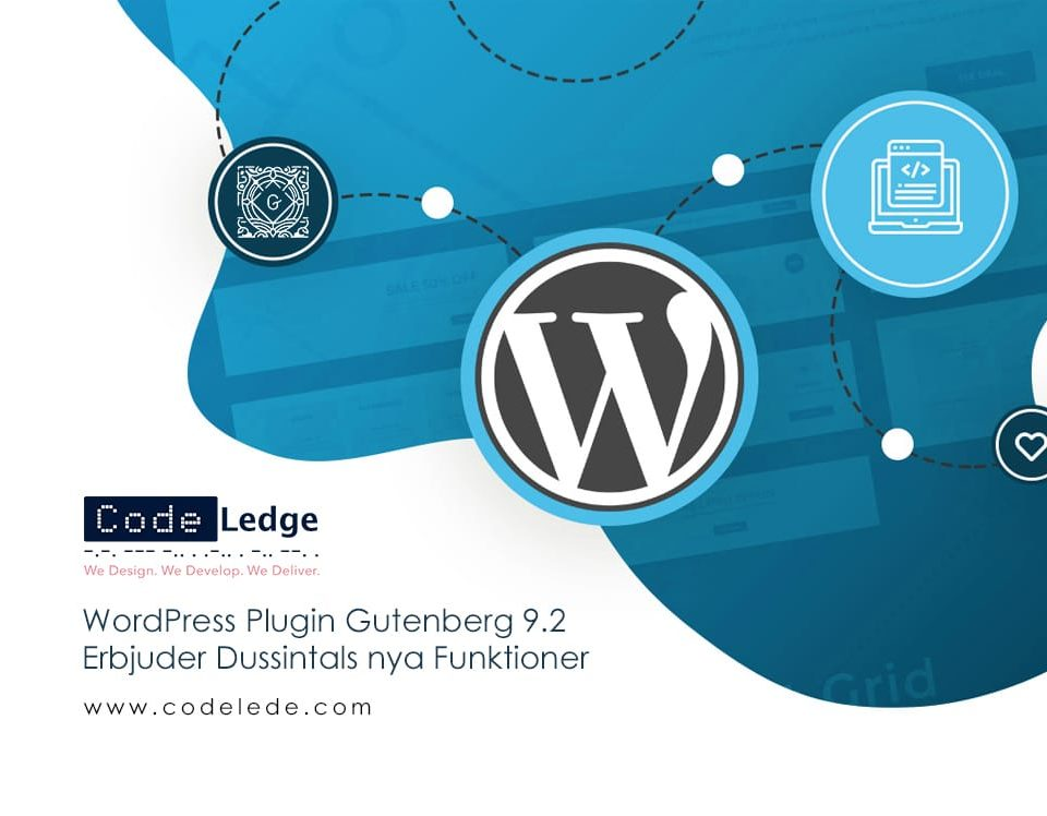 WordPress Plugin Gutenberg 9-2 erbjuder dussintals nya funktioner