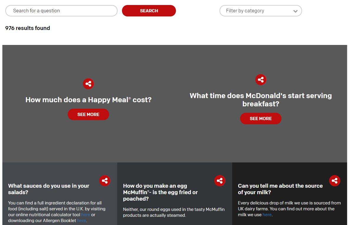mcdonalds-FAQ