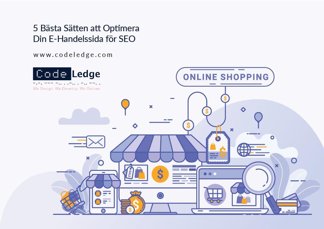 5 Bästa Sätten att Optimera Din E-Handelsproduktsida För SEO