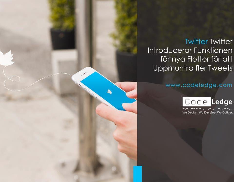 Twitter introducerar funktionen för nya flottor för att uppmuntra fler tweets