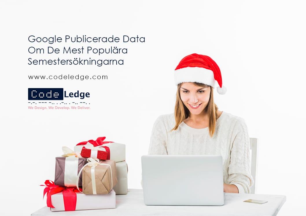Google Publicerade Data Om De Mest Populära Semestersökningarna