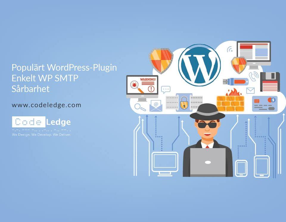 Populärt WordPress Plugin Enkelt WP SMTP Sårbarhet