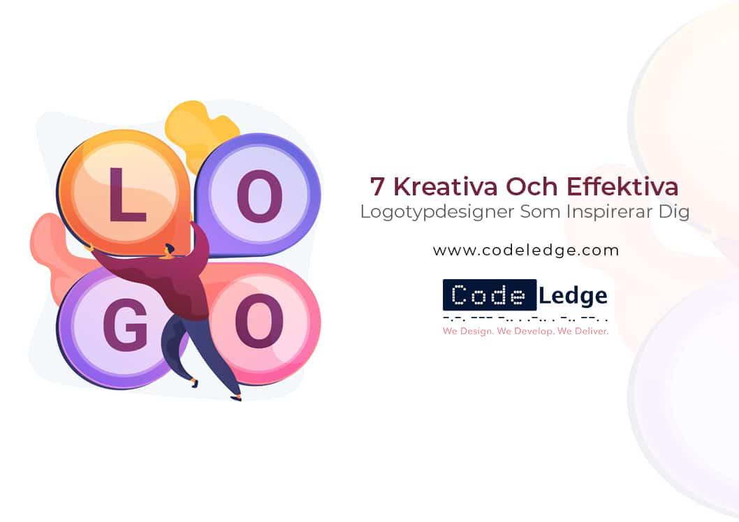 7 Kreativa Och Effektiva Logotypdesigner Som Inspirerar Dig