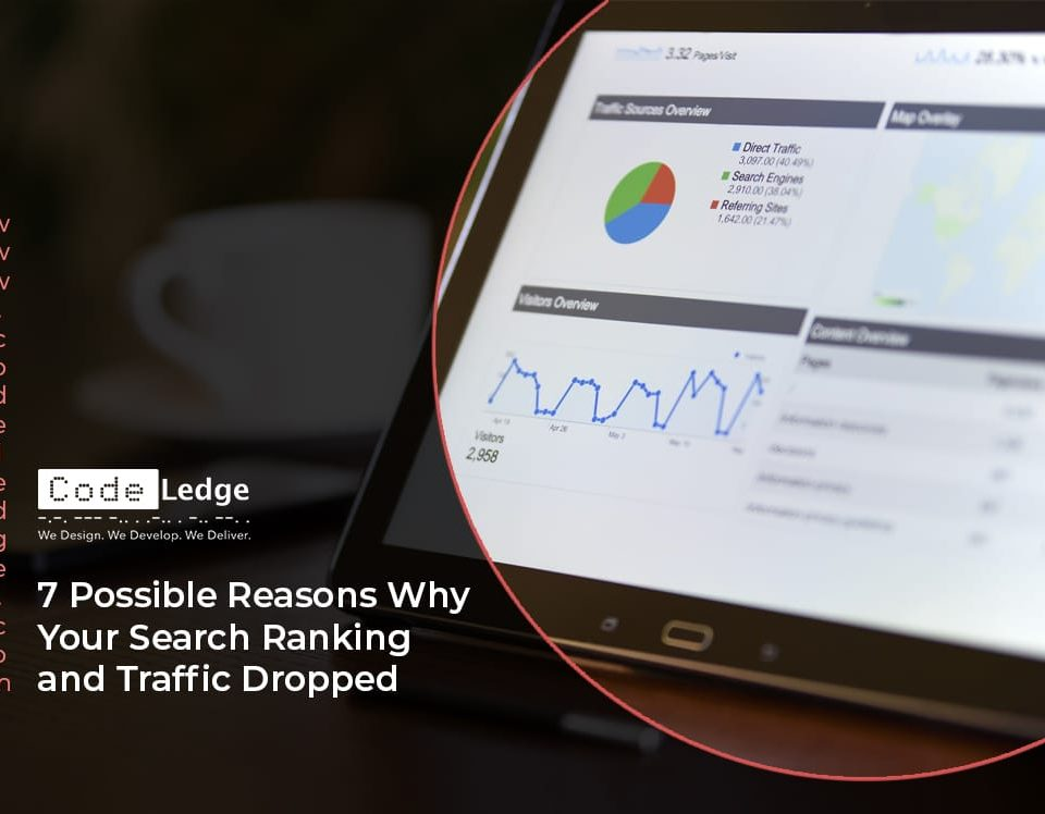 7 Possible Reasons Why Your Search Ranking and Traffic Dropped