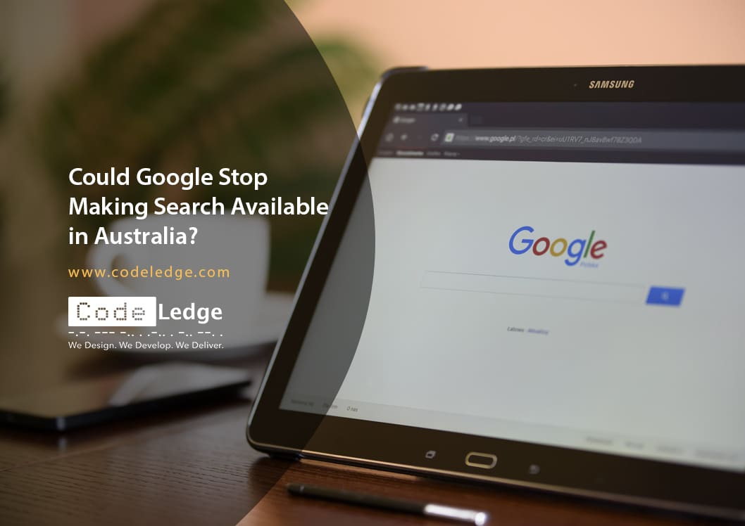 Could Google stop making search available in Australia?