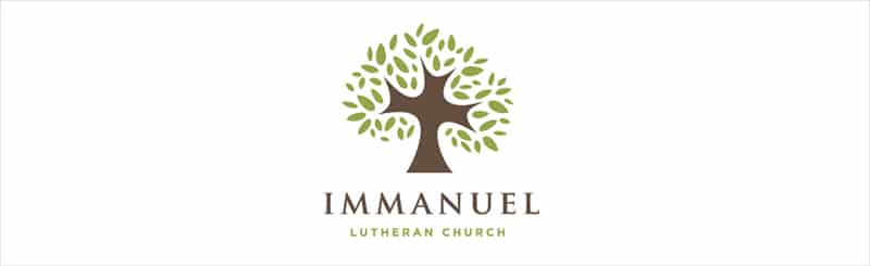 Creative-Logo-Designs-to-Inspire-You-Immanuel-Luthern-Church-1