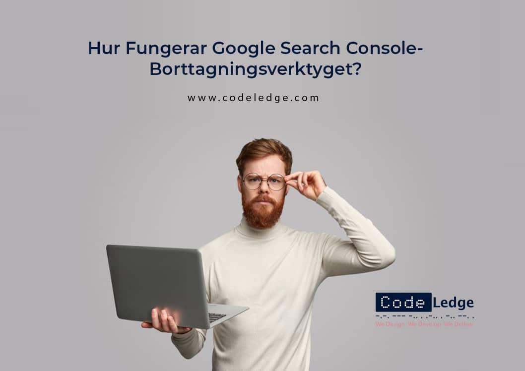 Hur Fungerar Google Search Console-Borttagningsverktyget