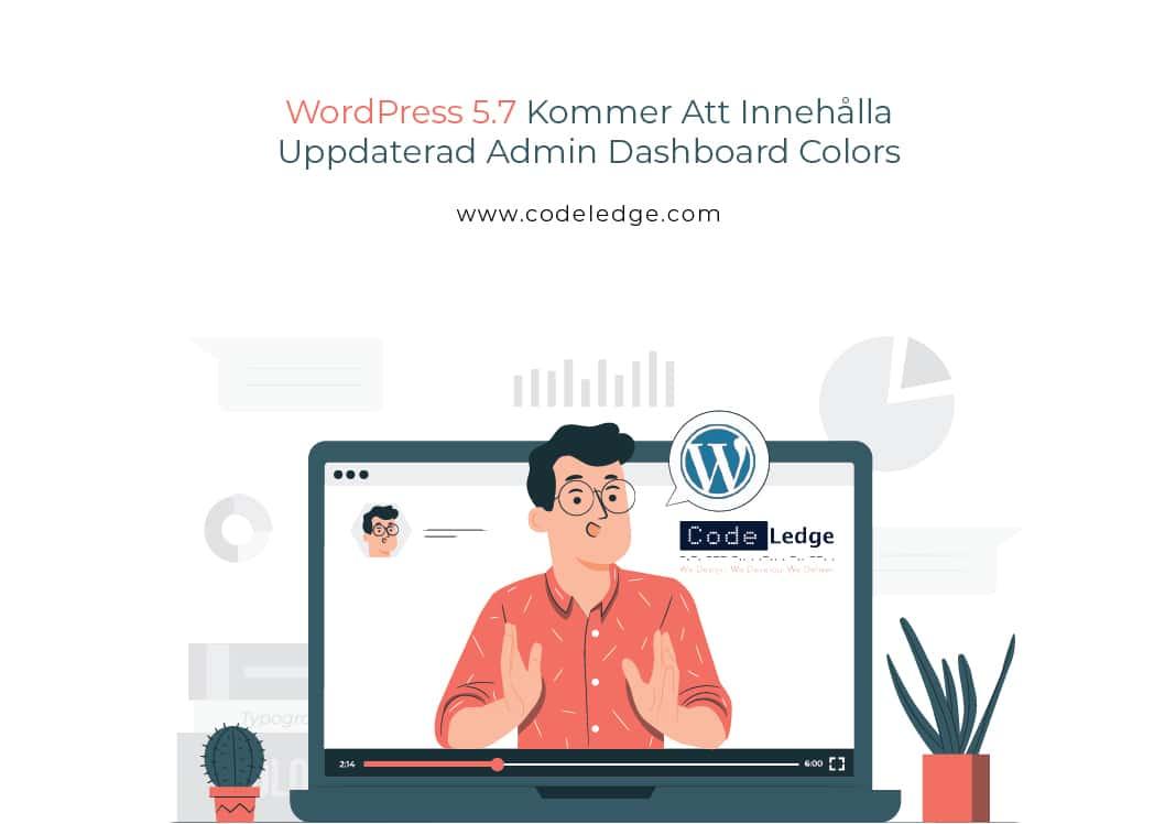 Wordpress 5.7 Kommer Att Innehålla Uppdaterad Admin Dashboard Colors