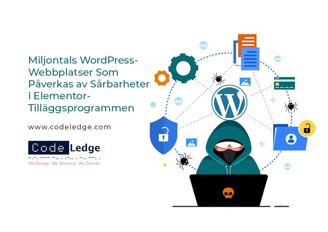 Miljontals WordPress-webbplatser som påverkas av sårbarheter i Elementor-tilläggsprogrammen